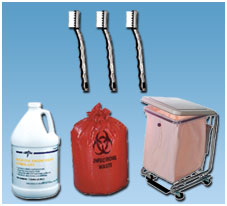 INSTRUMENT CLEANING - DEODORIZERS - HAMPERS & LINERS