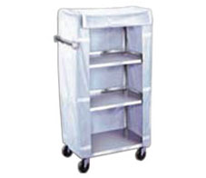 3 SHELF UTILITY CART STAINLESS STEEL