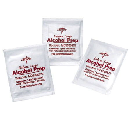 ANTISEPTIC PREPARATION PADS