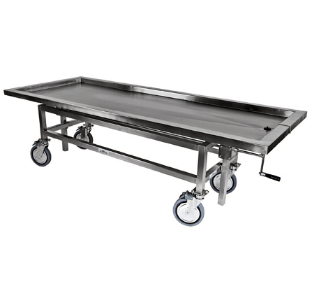 ELEVATED AUTOPSY CART (Both sides)
