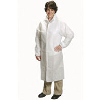 LABCOATS WITH TAPERED COLLAR & WRISTS
