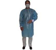 LAMINATED POLYPRO PROTECTION GOWN