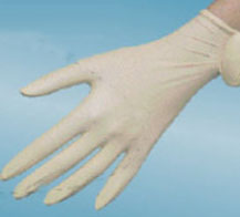 LATEX FREE, POWDER FREE VINYL SYNTHETIC GLOVES