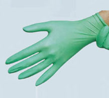 "NITRILE GLOVES, Powder Free, 12"" Extended Cuff"