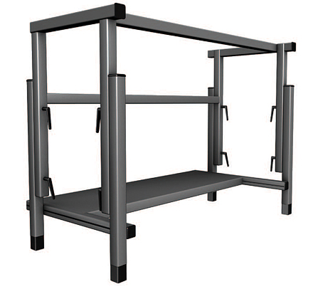 STAND ALONE UNIT, Height-Adjustable